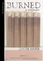 Cover of Burned:  A Memoir