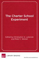The Charter School Experiment