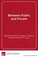 Between Public and Private