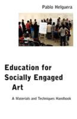 Book Cover of Education for Socially Engaged Art