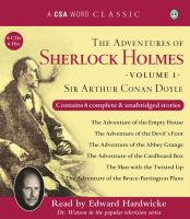 The Adventures of Sherlock Holmes, Volume 1