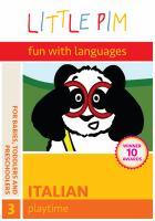 Little Pim, Fun With Languages, Italian