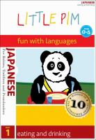 Little Pim, fun with languages, Japanese. 1, Eating and drinking