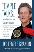 Temple Talks ... About Autism and Sensory Issues