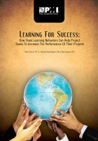 Learning for Success