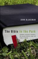 The Bible in the Park