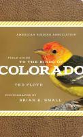 Field Guide to Birds of Colorado