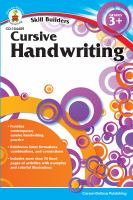Skill Builders Cursive Handwriting: Grades 3+