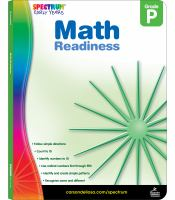 Spectrum Early Years Math Readiness