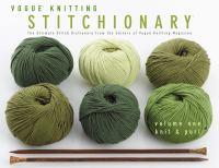 Vogue Knitting Stitchionary