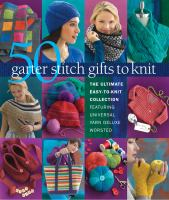 50 Garter Stitch Gifts to Knit