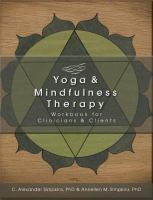 Yoga and Mindfulness Therapy Workbook