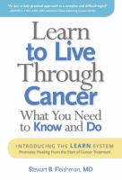 Learn to Live Through Cancer