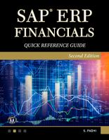 SAP ERP Financials Quick Reference Guide