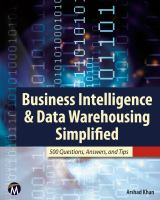Business Intelligence and Data Warehousing Simplified