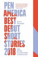 PEN America Best Debut Short Stories