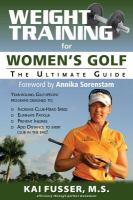 Weight Training for Women's Golf