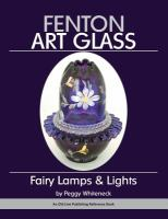 Fenton art glass : fairy lamps & lights