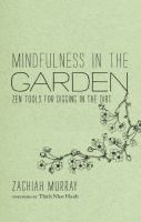 Image: Mindfulness in the Garden