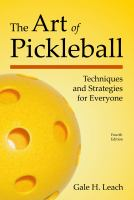 The Art of Pickleball