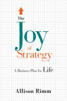 The Joy of Strategy