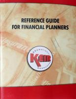 Reference Guide for Financial Planners 2012