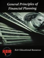 General Principles of Financial Planning