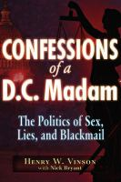 Confessions of A D.C. Madame
