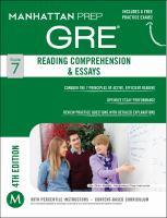 Reading Comprehension & Essays