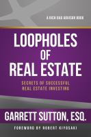 The Loopholes of Real Estate