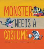 Monster Needs A Costume