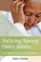 Bullying Among Older Adults