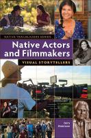 Native Actors and Filmmakers