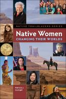 Cover of Native Women Changing Thei
