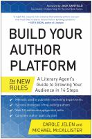 Build Your Author Platform