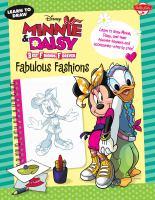 Learn to Draw Disney Minnie & Daisy Best Friends Forever