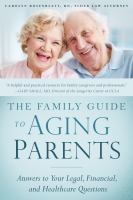The Family Guide to Aging Parents
