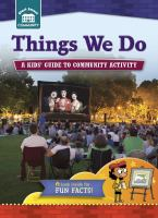 Things We Do