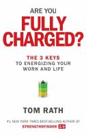 Are you fully charged? : the 3 keys to energizing your work and life
