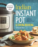 Indian Instant Pot Cookbook