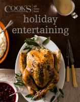 Cook's Illustrated All Time Best Holiday Entertaining