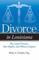 Divorce in Louisiana