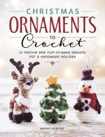 Christmas Ornaments to Crochet