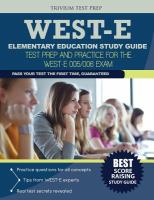 WEST-E Elementary Education Study Guide
