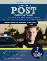 POST Entry Level Law Enforcement Test Battery (PELLETB) Review