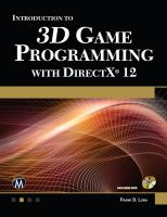 Introduction to 3D Game Programming With DirectX® 12