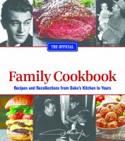 The official John Wayne family cookbook.