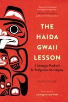 The Haida Gwaii Lesson