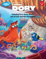 Learn to Draw Disney-Pixar Finding Dory