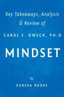 Key Takeaways, Analysis & Review of Carol S. Dweck, Ph.D's Mindset